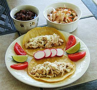 Tacos Pollo al Carbon